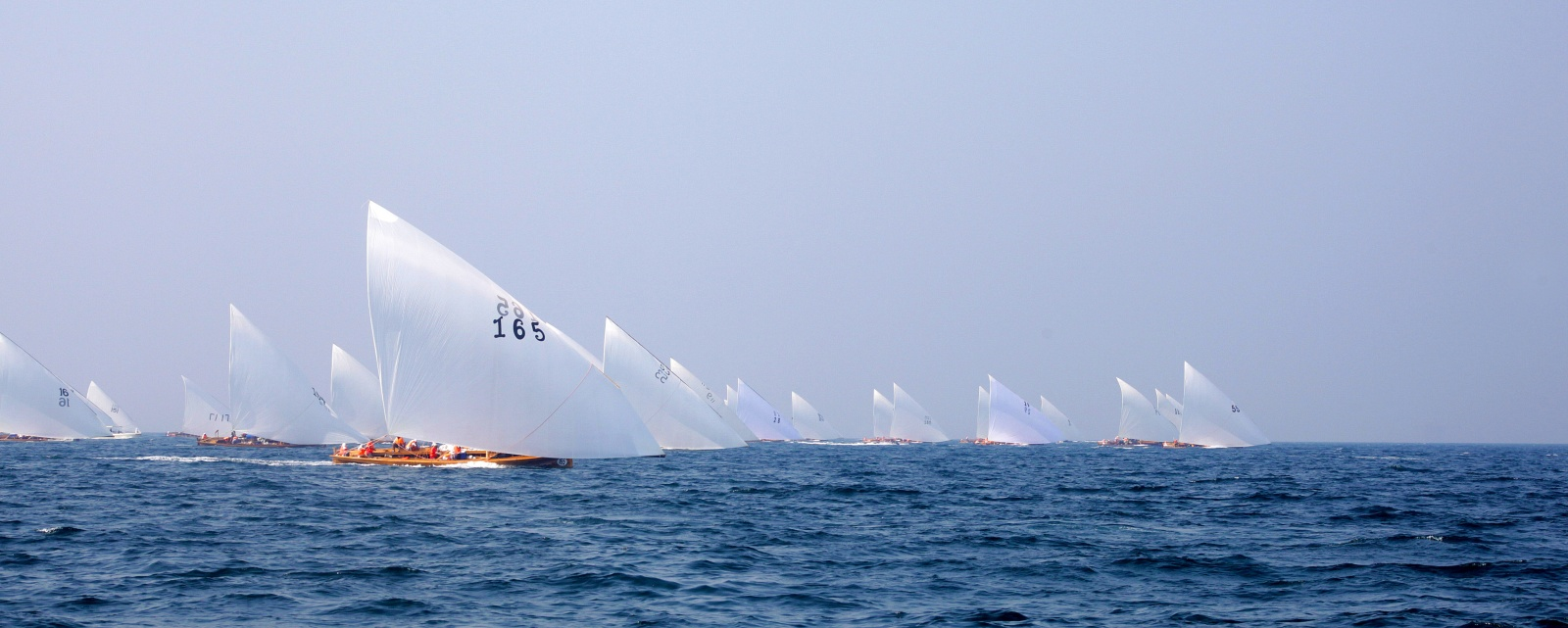 Abu Dhabi Dhow Sailing Race 43FT- Final Round