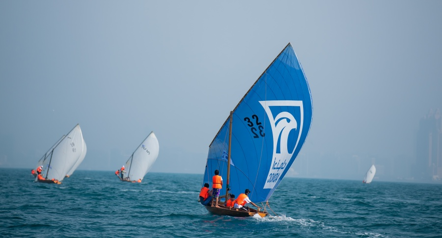 ADNOC Dhow Sailing Race 22 FT, R3
