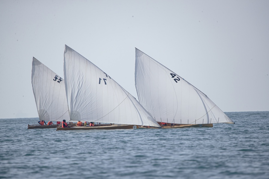SHZF Dhow Sailing Race 22 FT, R1
