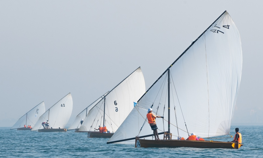 Al Rubaya Group Dhow Sailing Race 22 FT, R2