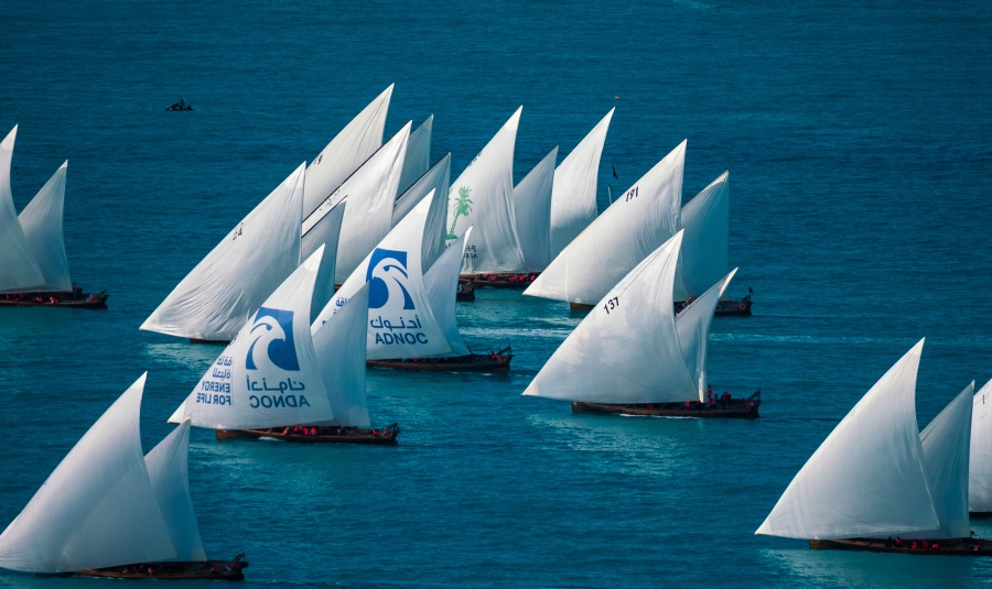 SHZF Dhow Sailing Race 60FT
