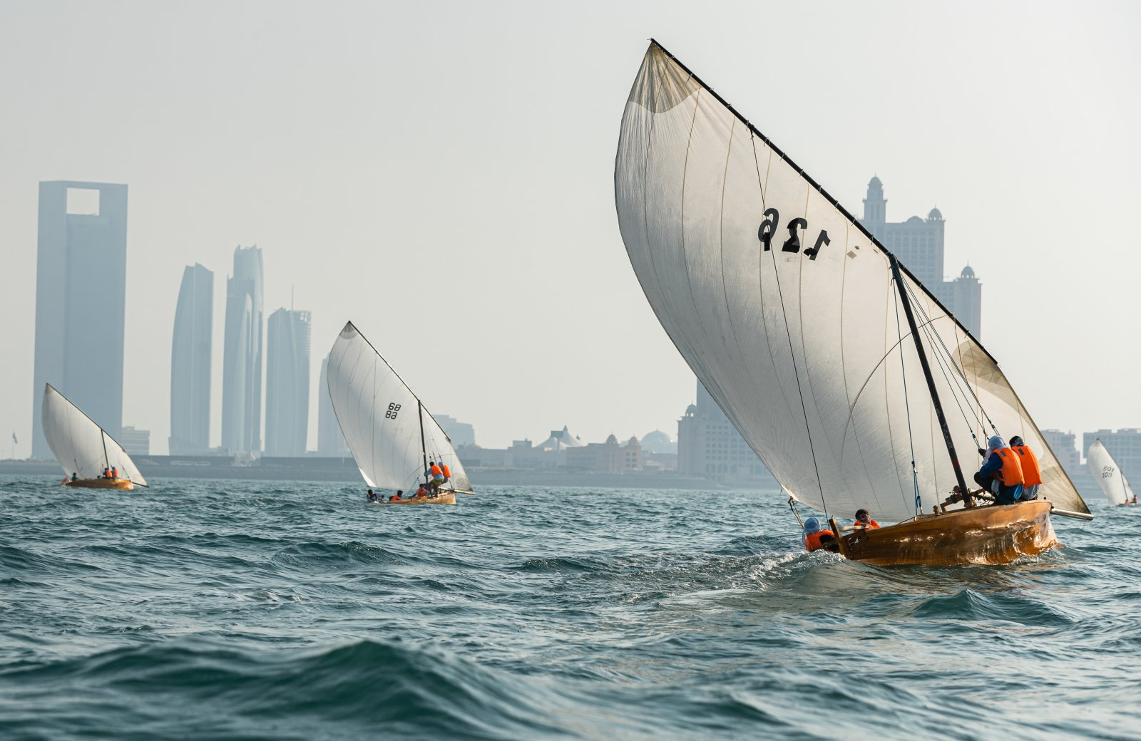 22Feet Dhow Sailing Boats