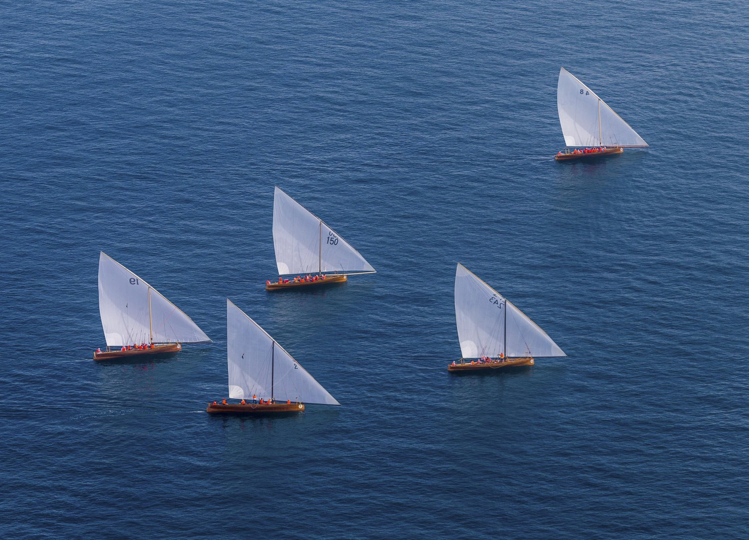 43Feet Dhow Sailing Boats