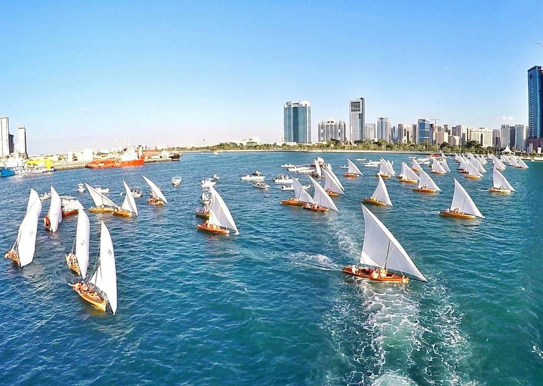 Sheikh Zayed Heritage Festival Dhow Sailing Race 22FT