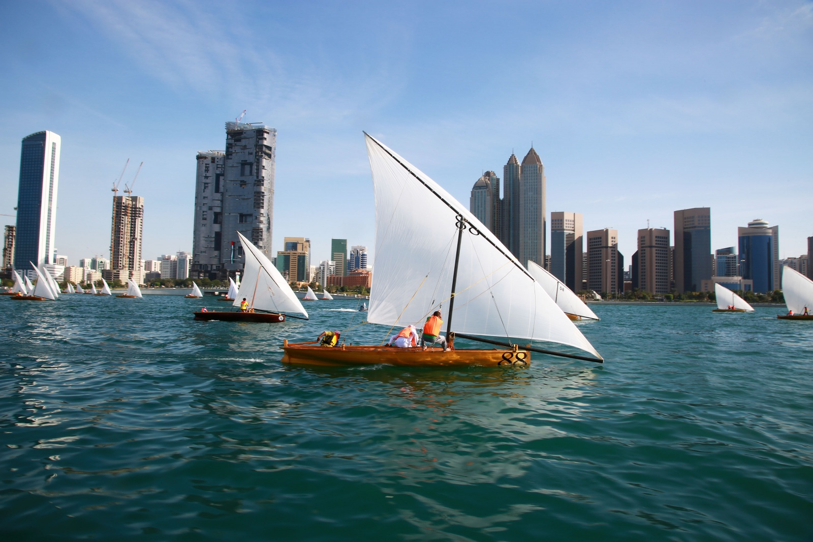 Yas Dhow Sailing Race 22FT