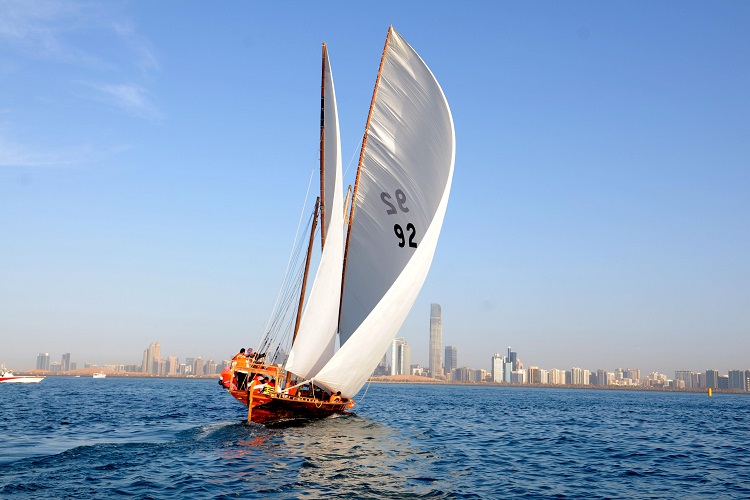 Ghanadah Dhow Sailing Race 60FT